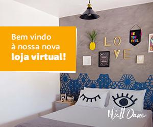 Bem vindo à nossa nova casa - Banner | Wall Done