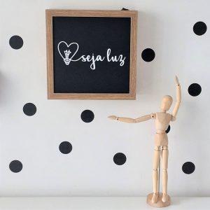 Lightbox Seja Luz | Wall Done