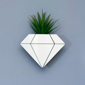 Vaso de Parede Diamante | Wall Done