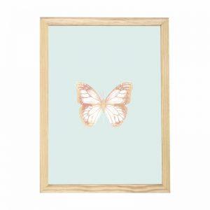 quadro-borboleta-moldura-pinus-walldone