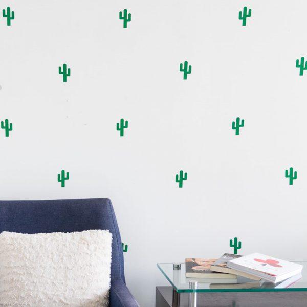 Adesivo de Parede Cactos Ambientados | Wall Done