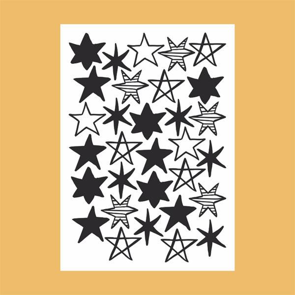 adesivo-de-parede-ceu-estrelado | Wall Done