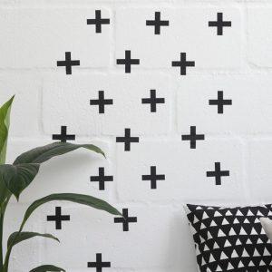 Adesivo de Parede Cruzetas 2 | Wall Done
