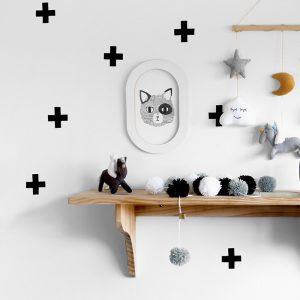 Adesivo de Parede Cruzetas | Wall Done