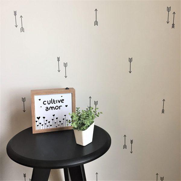 Adesivo de Parede Flechas Ambientado 2 | Wall Done