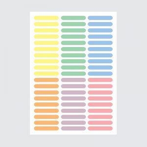 Adesivo de Parede Granulados Candy Colors Cartela | Wall Done