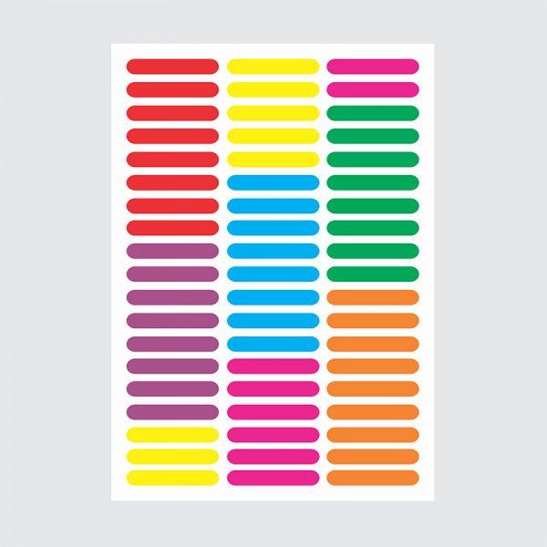 Adesivo de Parede Granulados Cores Vibrantes Cartela | Wall Done