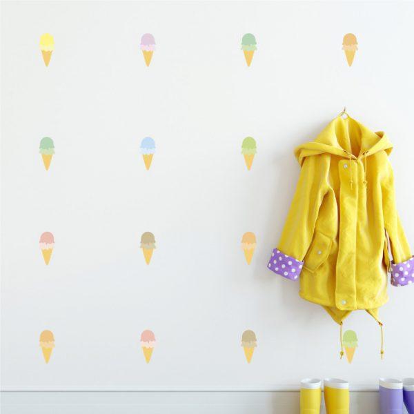Adesivo de Parede Sorvetes | Wall Done