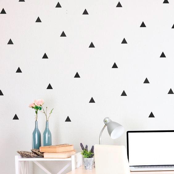 Adesivo de Parede Triângulo 2 | Wall Done