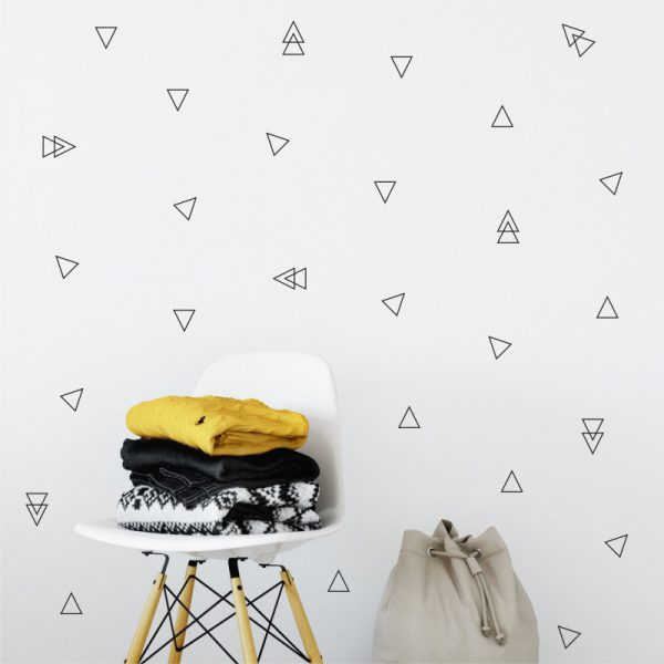 Adesivo de Parede Triângulos Contorno 2 | Wall Done