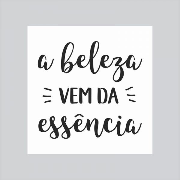 Arte Lightbox Beleza | Wall Done