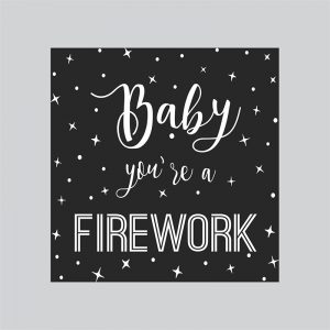 Arte Lightbox Firework | Wall Done