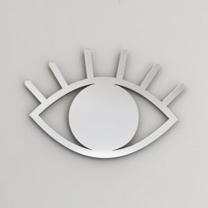 Espelho de Parede Olho Prata | Wall Done