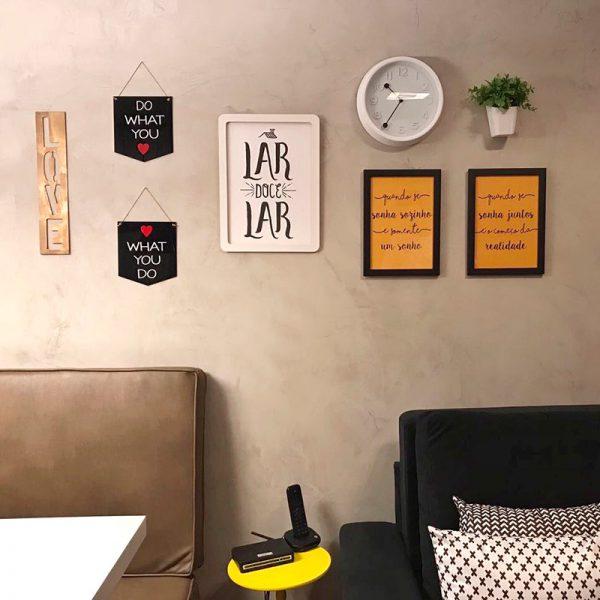 Flâmulas Acrílico Love | Wall Done