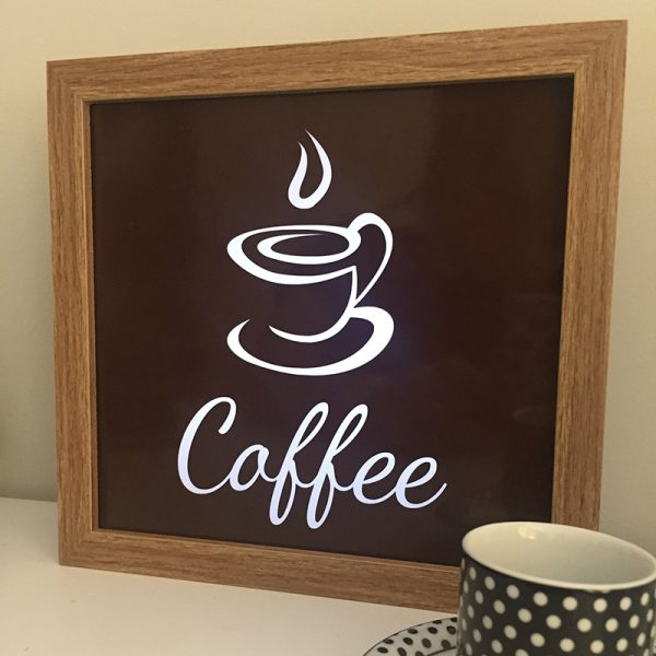 Lightbox Coffe | Wall Done