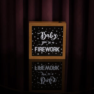 Lightbox Firework 2 | Wall Done
