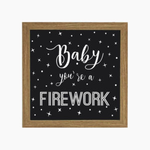 Lightbox Firework | Wall Done
