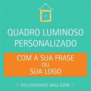 Lightbox Personalizada | Wall Done