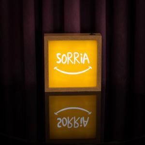 Lightbox Sorria | Wall Done