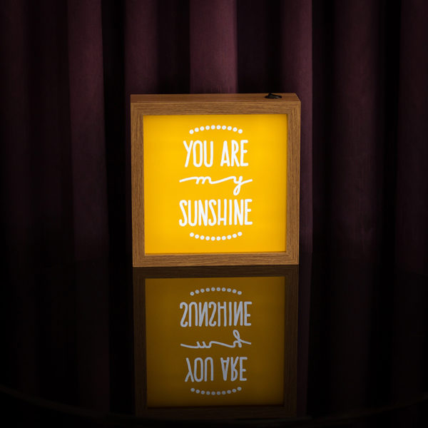 Lightbox Sunshine 2 | Wall Done