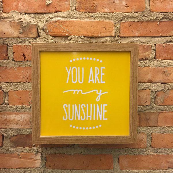 Lightbox Sunshine | Wall Done