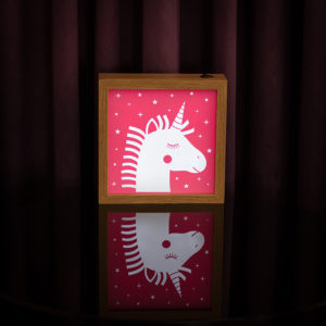 Lightbox Unicornio | Wall Done