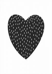 Pôster Coração | Wall Done