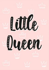 Pôster Little Queen | Wall Done