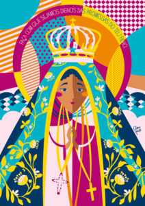 Pôster Nossa Senhora Aparecida | Wall Done
