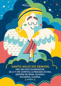 Pôster Santo Anjo | Wall Done