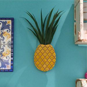 Vaso de Parede Abacaxi Ambientado 3 | Wall Done