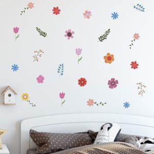 adesivo-de-parede-flores-2 | Wall Done