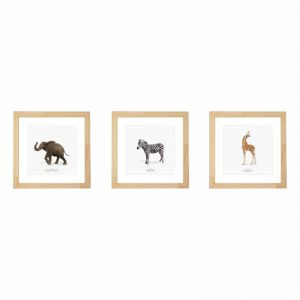 kit-quadros-animais-safari-walldone