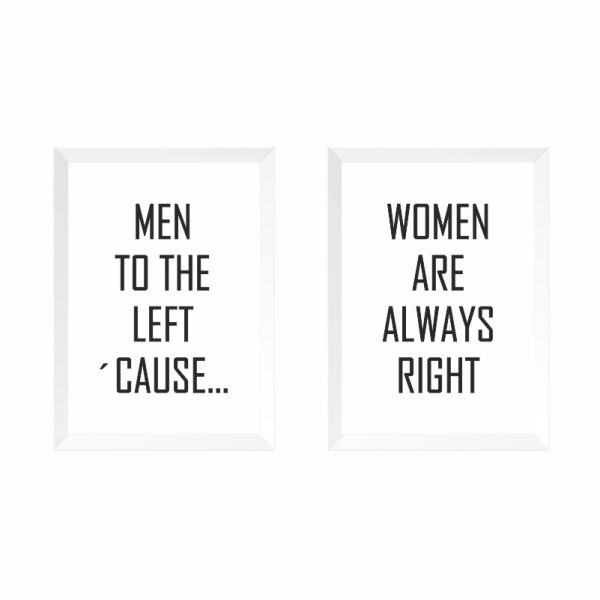 quadros-men-women-moldura-branca-walldone